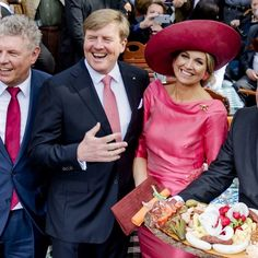 Elegante Máxima maakt indruk in München. April 14, 2016 in Nuremberg, Germany. King Willem-Alexander and Queen Maxima are on a two-day visit in Bavaria