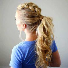 Ponytail Hairstyles For Long Hair Glamorous 10 Easy Ponytail Hairstyles Long Hair Style Ideas 2018  Pinterest