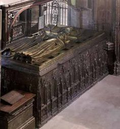 The tomb of Richard II and Anne of Bohemia at Westminster Abbey.