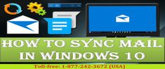 How to #Sync_Email Accounts on Windows 10? Read blog https://goo.gl/PgaRwJ