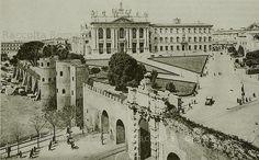 1930 2007 Porta S. Old Photos, Vintage Photos, Rome, San Giovanni, Louvre, Landscape, History, Architecture, World