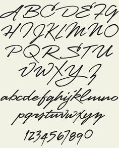 Love the font --- Letterhead Fonts / LHF Stanford Script / Handpainted Script Fonts Calligraphy Fonts Alphabet, Handwritten Fonts, Script Fonts, Typography Fonts, Tattoo Script, Tattoo Fonts, Daddy Tattoos, Bodysuit Tattoos, Faith Tattoo On Wrist