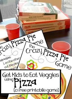 Great free printable game to get kids to try veggies on pizza. LOVE. #betteringredients @papajohns #ad