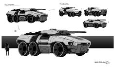 Artstation - chronicles of marad - land tank, gavin manners army vehicles, armored vehicles Armor Concept, Weapon Concept Art, Concept Cars, Futuristic Cars, Futuristic Architecture, Army Vehicles, Armored Vehicles, Future Weapons, Sci Fi Ships