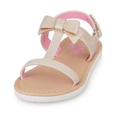 The Childrens Place - She'll want to wear these chic shoes to school and to the shore!