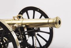 12 Pounder Gribeauval Miniature Scale Model Cannon
