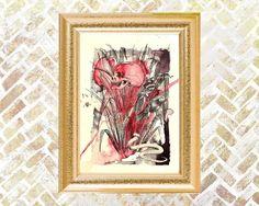 Snake In The Grass, illustration  by Veronica Lamb on Artfinder. #skullart #uniqueart