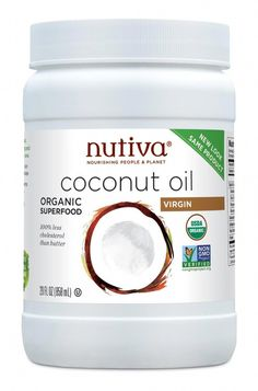 Nutiva Organic Virgin Coconut Oil is an organic superfood and less cholesterol than butter. Non-gmo, coconut is one of the most nourishing foods. Coconut Oil For Beard, Coconut Oil For Acne, Coconut Oil Uses, Benefits Of Coconut Oil, Oil Benefits, Health Benefits, Organic Coconut Oil, Beauty Products, Pointe Shoes