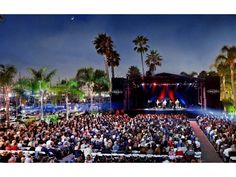 Spend warm evenings under the stars listening to almost any type of music at these great ticketed and free summer concerts throughout San Diego.