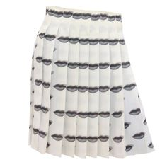 Iconic Prada Lip Skirt (S/S 2000) | From a collection of rare vintage skirts at https://www.1stdibs.com/fashion/clothing/skirts/