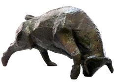 Taureau - Sculpture ©2013 par Catherine Mauvisseau-Bordin -            Taureau, sculpture taureau, sculpture animalière