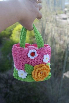 spring little girls purse