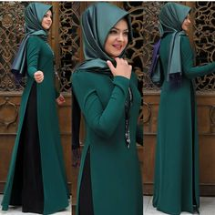 Image may contain: 4 people, people standing Iranian Women Fashion, Islamic Fashion, Muslim Fashion, African Fashion, Modest Fashion, Hijab Evening Dress, Hijab Style Dress, Hijab Trends, Muslim Dress