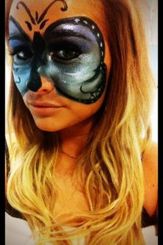 Masquerade Make up I did on a client