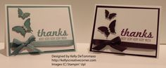 Clean and Simple Thank you Cards: http://kellyscreativecorner.com/2014/07/09/cas-cards-for-the-pals-blog-hop/
