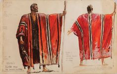 Fun and insightful article on the robe that Charlton Heston wore in the Ten Commandments movie. Its design and symbolism.