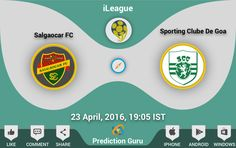 Who will win today's #match ?  Who will win today ?  #Salgaocar VS #Goa  Share you #prediction at : https://play.google.com/store/apps/details?id=com.guru.prediction https://www.microsoft.com/en-us/store/apps/prediction-guru/9nblggh6bnjc https://itunes.apple.com/us/app/prediction-guru/id1087178141  #SCGvsSFC #ileague #football #win #HeroIleague #android #iphone #windows