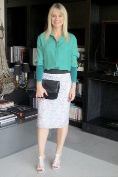 Look 3 Camisa Verde
