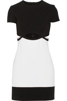 Emilio Pucci Cutout stretch-wool mini dress | NET-A-PORTER