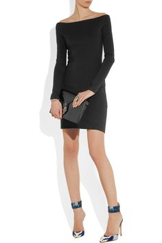 The Row | Hunting stretch-jersey dress | NET-A-PORTER.COM