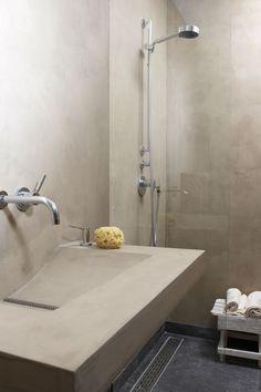 Molitli – Lifestyle en Wooncollectie – Meubels – Badkamer – Wastafel – Betonlookdesign wastafel (000933)