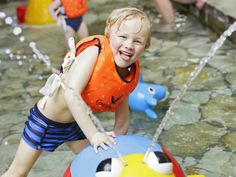 Uitleven in het Kinder-doe-bad