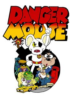 danger mouse cartoon | Danger Mouse by Gonzocartooncompany on deviantART