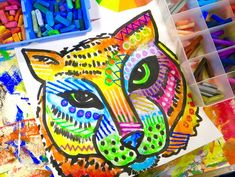 In the Art Room: Dean Russo-Inspired School Mascot!