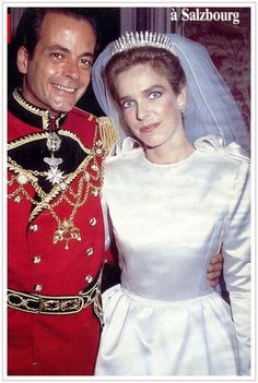 Mariano Hugo, Prince of Windisch-Graetz married Archduchess Sophie of Austria on 11 Feb 1990 in Salzburg, Austria