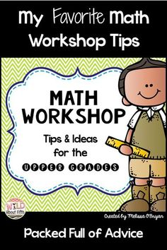 Blog Post that's full of tips and ideas for implementing math workshop in your classroom.