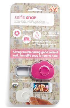 DCI 'Selfie Snap' Handheld Shutter Remote for Smartphones available at #Nordstrom