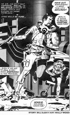 Wally Wood (I assume that's the artist, not the original pinner)