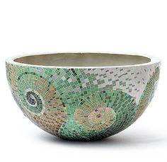Obbligato Plant Pots - BP900 mosaic pots