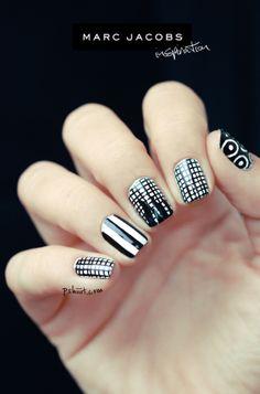marc jacob nail art inspiration