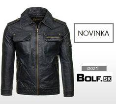 V ponuke nové modely kožených búnd. :) http://www.bolf.sk/on/panske-bundy/kozene-bundy?xpage=1&xoffset=200