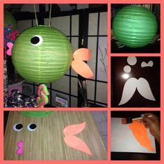 Fish paper lantern.