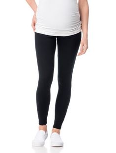 Luxe Essentials Secret Fit Belly(r) Maternity Leggings // GREAT for post baby until the belly deflates :)