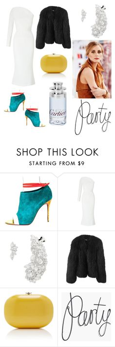 """""""Untitled #226"""" by miiirrra ❤ liked on Polyvore featuring Christian Louboutin, Roland Mouret, Nadri, Balenciaga, Jeffrey Levinson and Cartier"""