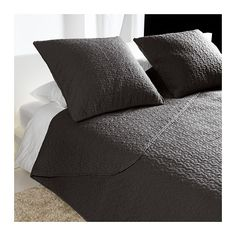 Layer this coverlet under a duvet for extra warmth in the winter ... : dark gray quilt - Adamdwight.com