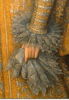 Portrait d'Isabella Clara Eugenia, Archiduchesse d'Autriche, 1598-1600 Frans Pourbus le jeune Détail