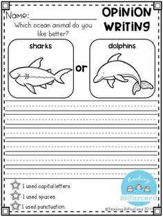 FREE Writing Prompt: Opinion Writing for first grade. This is also great for kindergarten and second grade to build confidence in writing. free writing prompts, freebies, tpt freebies, free kindergarten printables, kindergarten writing, first grade writin #mathforfirstgrade