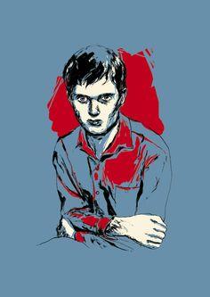Ian Curtis on Behance