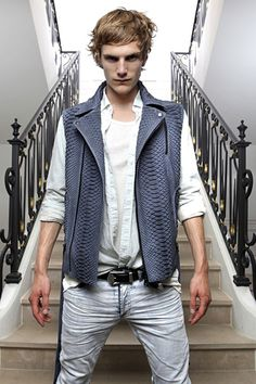 Balmain Men's Spring/Summer 2012 Looks