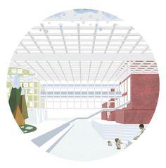False Mirror Office · The False Mirror | E13 Winner · Architettura italiana