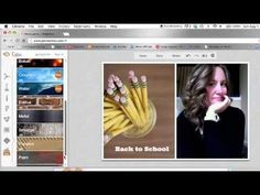 ▶ Project Life Tutorial: Printing 2 3x4 Photos on a 4x6 using Picmonkey :)