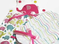 Baby Girl Clothes   Girl Summer Clothes  Baby by PeaPodLilFrogs #babygirlclothes #elephants #babyoutfit