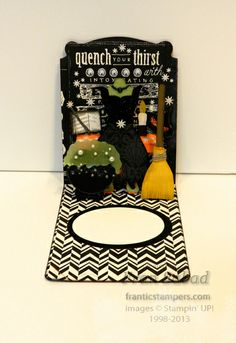 stampersblog Halloween witch and accessories