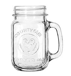 Give everyone a glasss to drink out of and to keep as a favor    Libbey 97085 16 oz. Drinking / Mason Jar 12 / CS