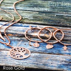 Rose gold Chlobo jewellery available at Stones!