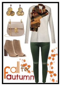 """""""🍁🍂Fall for Autumn🍁🍂"""" by haybeebaby on Polyvore featuring Sam Edelman, Le Kasha, Chloé and Wilsons Leather"""
